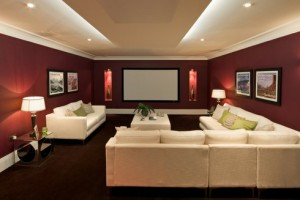 Hybrid space home theater