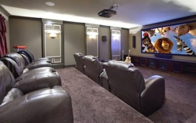 Designing & Building a Home Theater #5 – The Proper Room Height When Using Front Projection