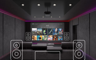 Designing & Building a Home Theater #8 – Tips For Where to Place Your A/V Equipment, and Furniture…